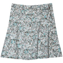 Aventura Clothing Avondale Skirt - Organic Cotton Voile (For Women) in Dusty Turquoise - Closeouts
