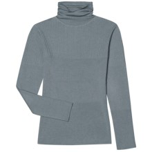 Aventura Clothing Bancroft Turtleneck Sweater - Merino Wool (For Women) in Lead - Closeouts