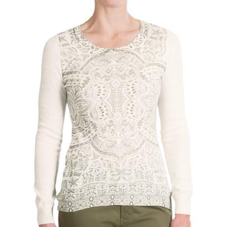 Aventura Clothing Belleview Sweater (For Women) in Whisper White