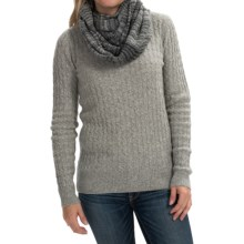 Aventura Clothing Bergamo Infinity Scarf (For Women) in Grey - Closeouts