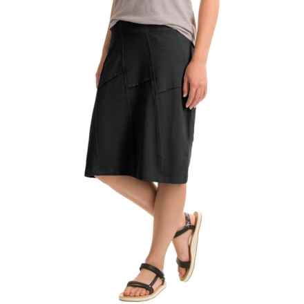 Aventura Clothing Beth Skirt - Organic Cotton-Modal (For Women) in Black - Closeouts