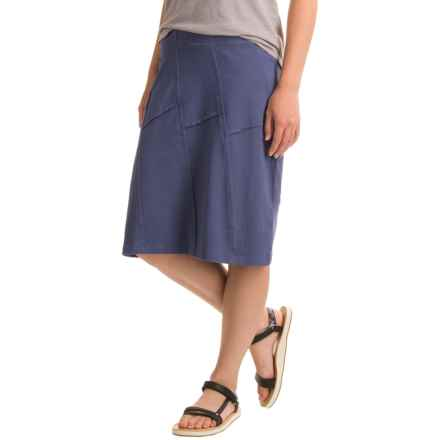 Aventura Clothing Beth Skirt - Organic Cotton-Modal (For Women) in Blue Indigo - Closeouts