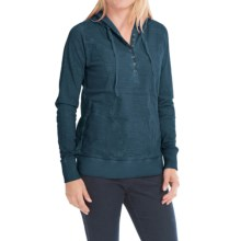 Aventura Clothing Betsy Hoodie - Organic Cotton (For Women) in Majolica Blue - Closeouts