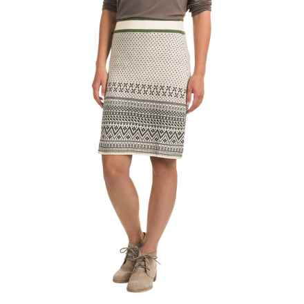 Aventura Clothing Blanche Skirt - Merino Wool (For Women) in Whisper White - Closeouts