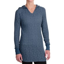 Aventura Clothing Braelin Hoodie Tunic Shirt - Long Sleeve (For Women) in Mallard - Closeouts