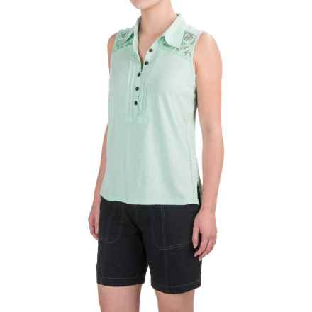 Aventura Clothing Breezy Tank Top - Organic Cotton-Modal (For Women) in Birds Egg Green - Closeouts
