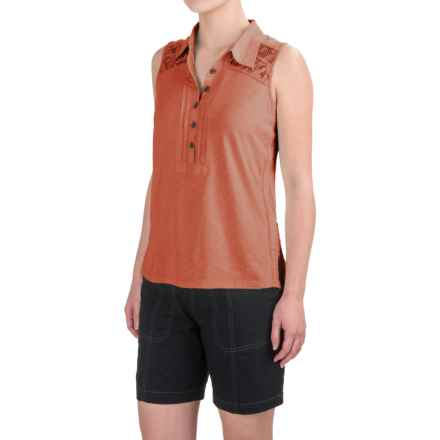 Aventura Clothing Breezy Tank Top - Organic Cotton-Modal (For Women) in Ginger - Closeouts