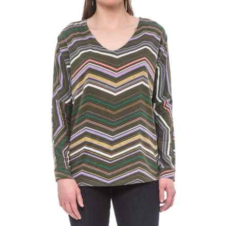 Aventura Clothing Brita Organic Cotton-Modal Shirt - Long Sleeve (For Women) in Black Olive - Closeouts