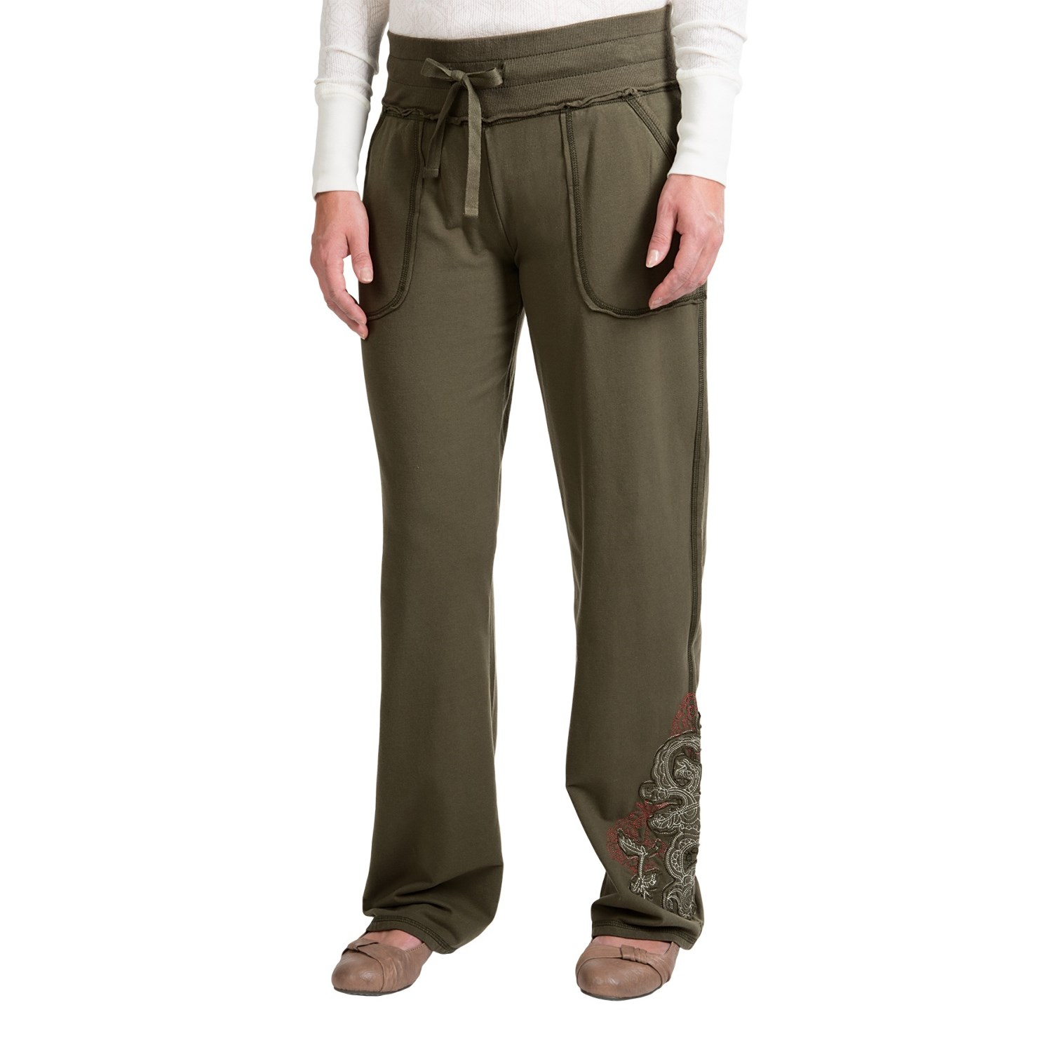 Aventura Clothing Callie Pants - Organic Cotton (For Women) in Dusty