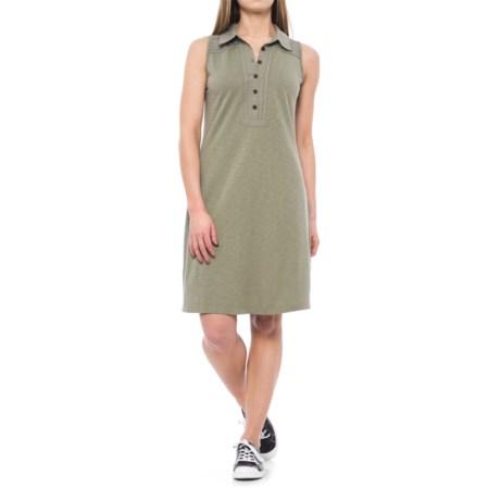 Aventura Clothing Campbell Dress - Sleeveless (For Women) in Gravel