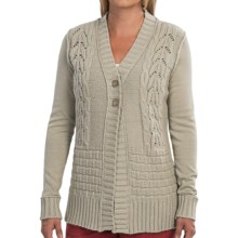 Aventura Clothing Carina Cardigan Sweater (For Women) in Parchment - Closeouts