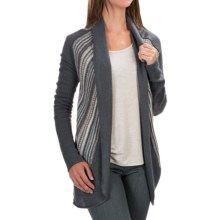 Aventura Clothing Caserta Sweater - Open Front (For Women) in Grisaille - Closeouts