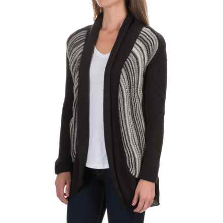 Aventura Clothing Caserta Sweater - Open Front (For Women) in Phantom - Closeouts