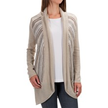 Aventura Clothing Caserta Sweater - Open Front (For Women) in Whisper White - Closeouts