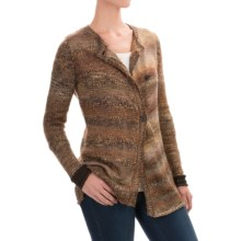 Aventura Clothing Clementine Cardigan Sweater (For Women) in Black Olive - Closeouts