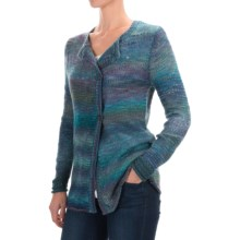 Aventura Clothing Clementine Cardigan Sweater (For Women) in Blue Spruce - Closeouts