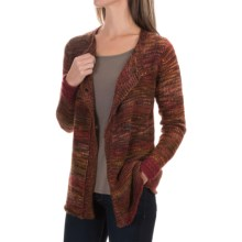 Aventura Clothing Clementine Cardigan Sweater (For Women) in Merlot - Closeouts