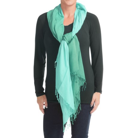 Aventura Clothing Clothing Kristen Scarf (For Women) in Porcelain Green