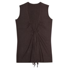 Aventura Clothing Coco Vest - Organic Cotton (For Women) in Espresso - Closeouts