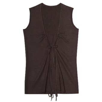 Aventura Clothing Coco Vest - Organic Cotton (For Women) in Espresso