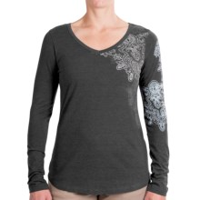 Aventura Clothing Costa Shirt - Long Sleeve (For Women) in Dark Shadow - Closeouts