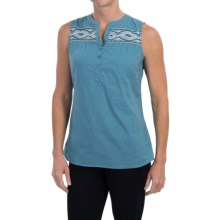 Aventura Clothing Damaris Shirt - Organic Cotton, Sleeveless (For Women) in Bluejay - Closeouts
