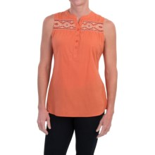 Aventura Clothing Damaris Shirt - Organic Cotton, Sleeveless (For Women) in Flamingo - Closeouts