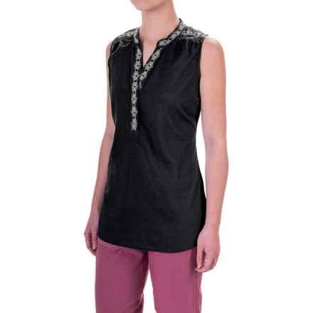 Aventura Clothing Dandra Tank Top (For Women) in Black - Closeouts