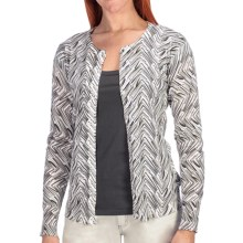 Aventura Clothing Darby Cardigan Sweater - Organic Cotton (For Women) in Fog - Closeouts