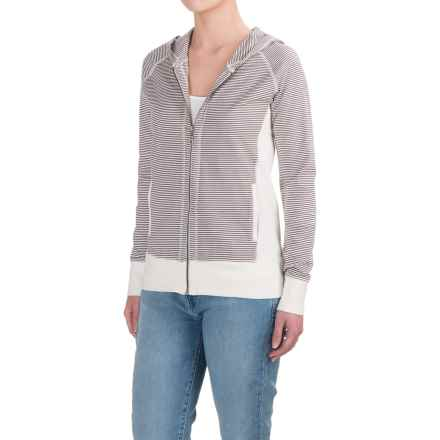 Aventura Clothing Darby Hoodie - Organic Cotton (For Women) in Grey - Closeouts