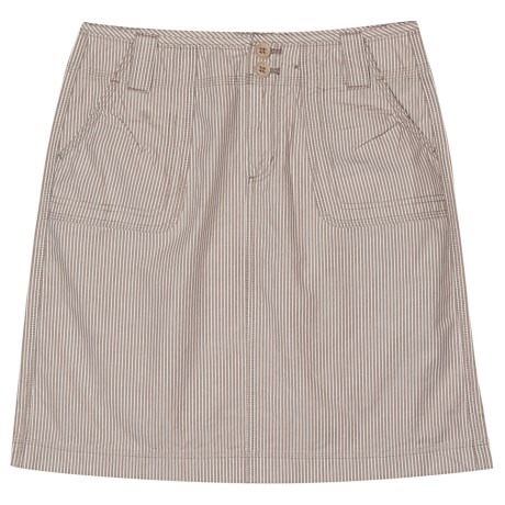Aventura Clothing Delaney Skirt - Organic Cotton (For Women) in Latte