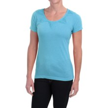 Aventura Clothing Dionne Shirt - Short Sleeve (For Women) in Blue Moon - Closeouts