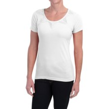 Aventura Clothing Dionne Shirt - Short Sleeve (For Women) in White - Closeouts