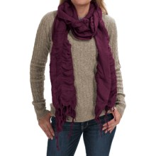 Aventura Clothing Durham Scarf (For Women) in Winetasting - Closeouts