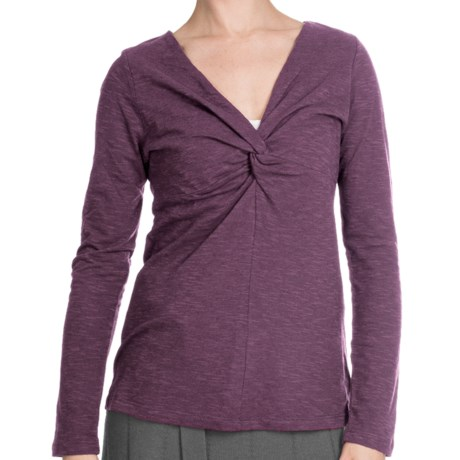 Aventura Clothing Ellery Shirt - Long Sleeve (For Women) in Potent Purple