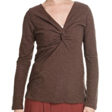 Aventura Clothing Ellery Shirt - Long Sleeve (For Women) in Turkish Coffee - Closeouts
