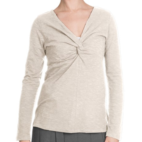 Aventura Clothing Ellery Shirt - Long Sleeve (For Women) in Whisper White