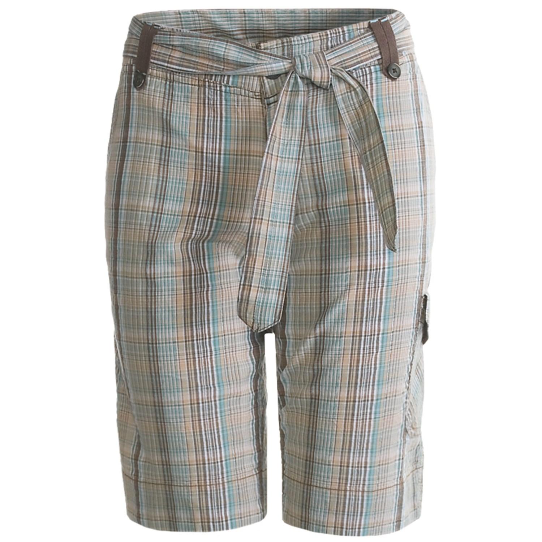 Aventura Clothing Ellis Cargo Shorts - Cotton (For Women) in Brown