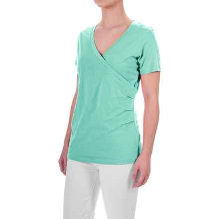 Aventura Clothing Erin Shirt - Short Sleeve (For Women) in Blue Turquoise - Closeouts