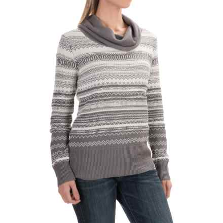 Aventura Clothing Farrah Sweater - Cowl Neck (For Women) in Smoked Pearl - Closeouts