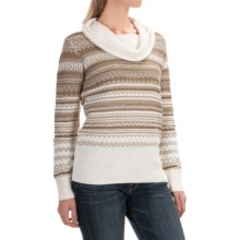 Aventura Clothing Farrah Sweater - Cowl Neck (For Women) in Whisper White - Closeouts
