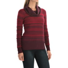 Aventura Clothing Farrah Sweater - Cowl Neck (For Women) in Winetasting - Closeouts