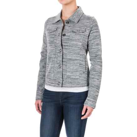 Aventura Clothing Finley Space-Dyed Jacket (For Women) in Phantom - Closeouts