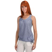 Aventura Clothing Finley Tank Top - Burnout (For Women) in Tempest - Closeouts