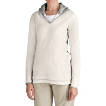 Aventura Clothing Fleece Hoodie Sweatshirt (For Women) in White - Closeouts