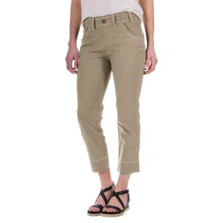 Aventura Clothing Galina Capris (For Women) in Beach Sand - Closeouts