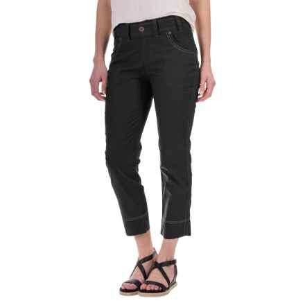 Aventura Clothing Galina Capris (For Women) in Black - Closeouts