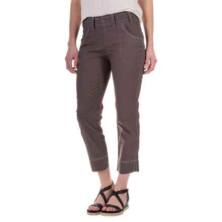 Aventura Clothing Galina Capris (For Women) in Frost Grey - Closeouts