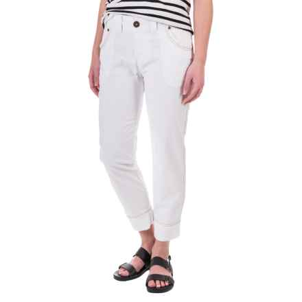 Aventura Clothing Galina Capris (For Women) in White - Closeouts