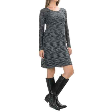 Aventura Clothing Gemma Dress - Long Sleeve (For Women) in Black - Closeouts